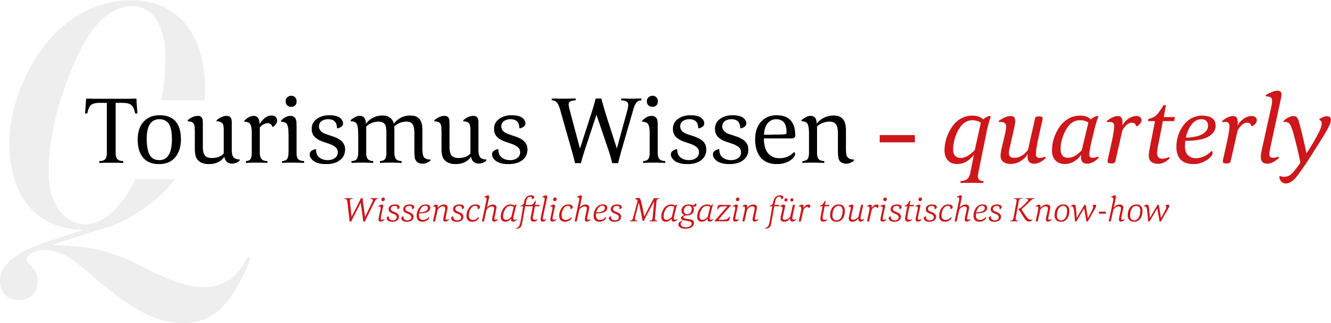 Wissenschaftliches Magazin für touristisches Know-how